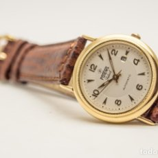 Relojes automáticos: RELOJ AUTOMATICO POTENS ORO. Lote 180399796