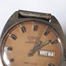 Relojes automáticos: RELOJ DE PULSERA AUTOMATICO CABALLERO CAMY GENEVA SUPERAUTOMATIC 25 JEWELS. Lote 180863705