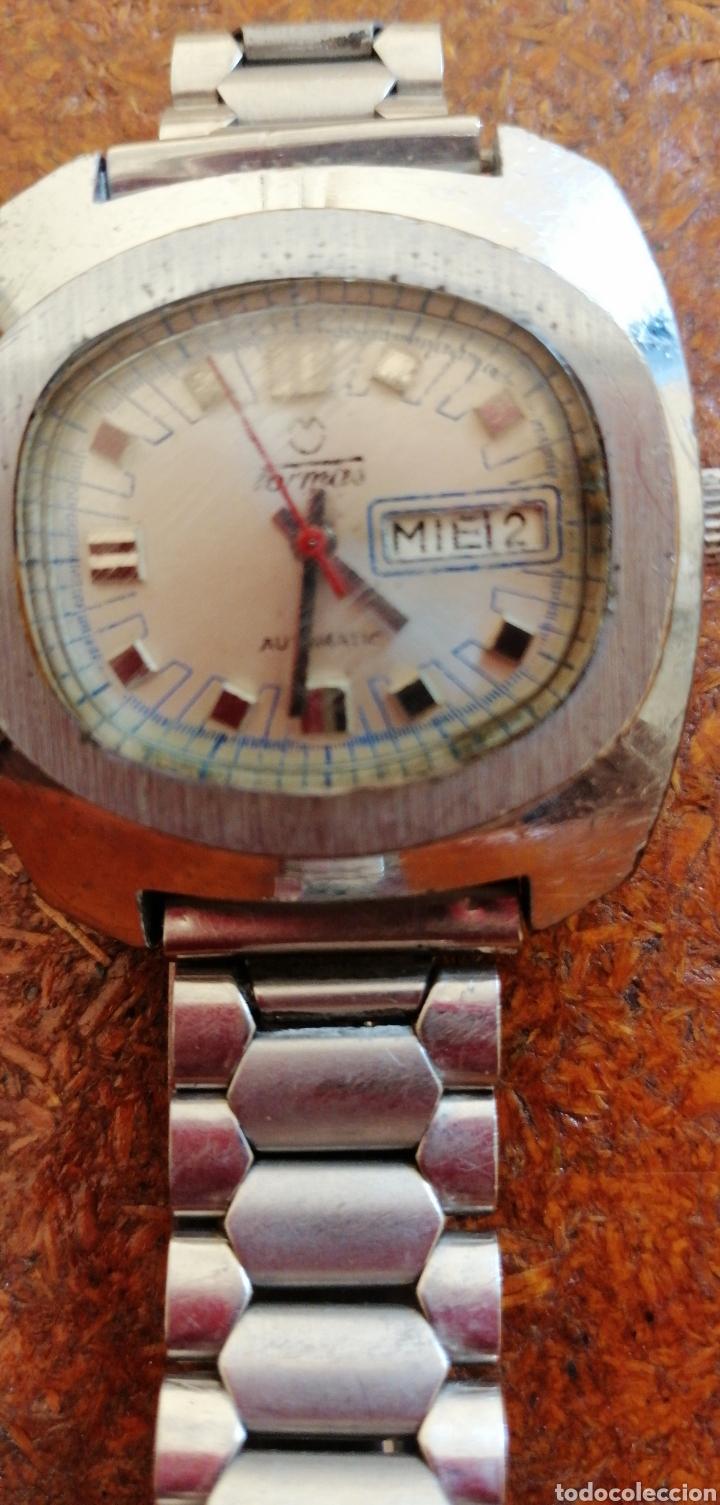 Relojes automáticos: RELOJ DE PULSERA AUTOMÁTICO MARCA TORMAS - Foto 3 - 180950172