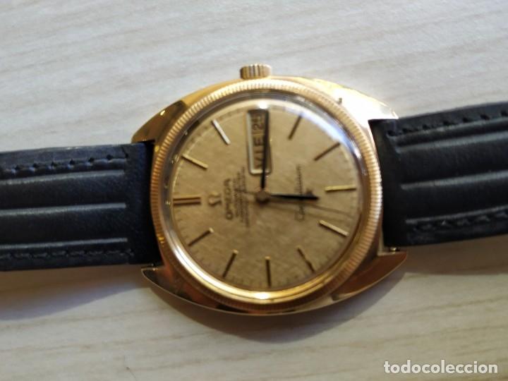Relojes automáticos: reloj omega automatico- calendario y semanario oro 18 kt.constellation, - Foto 5 - 181035558