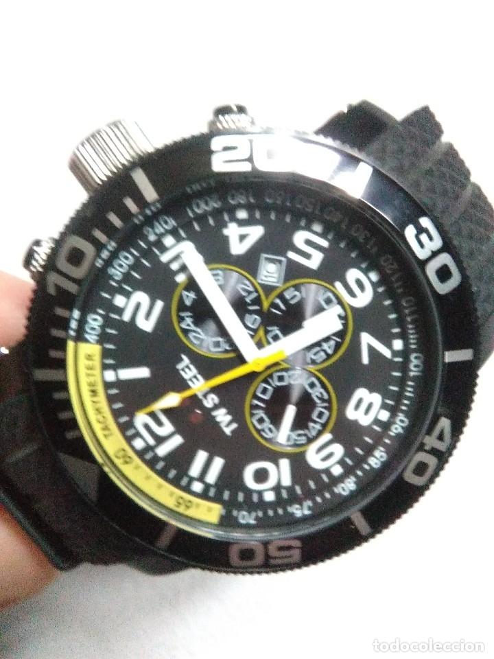 Relojes automáticos: precioso reloj de pulsera TW STEEL caballero grande nuevo sin estrenar con correa de caucho pvp 465€ - Foto 7 - 177197099