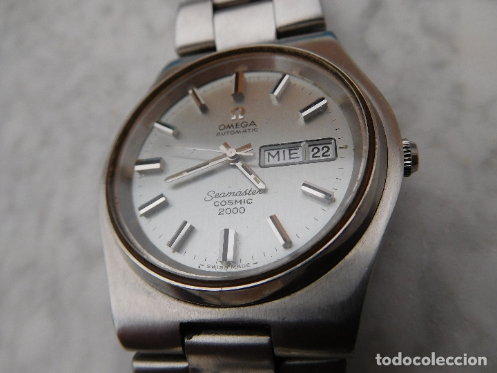 Relojes automáticos: Reloj automático de la marca Omega modelo seamaster cosmic 2000 - Foto 2 - 181392046