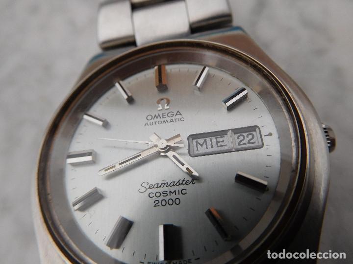 Relojes automáticos: Reloj automático de la marca Omega modelo seamaster cosmic 2000 - Foto 3 - 181392046