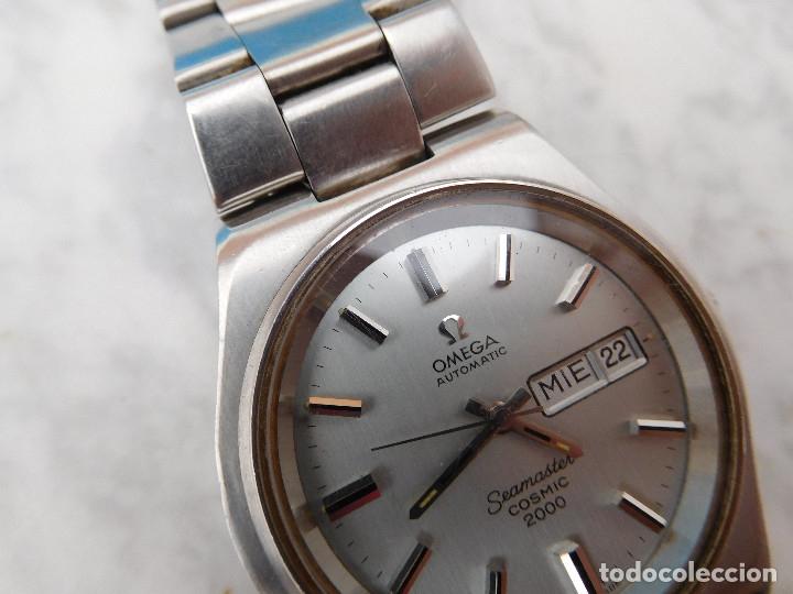 Relojes automáticos: Reloj automático de la marca Omega modelo seamaster cosmic 2000 - Foto 5 - 181392046