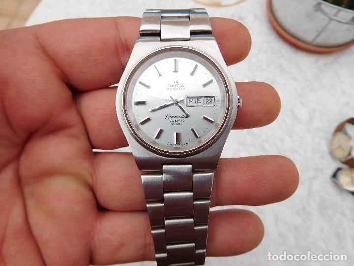Relojes automáticos: Reloj automático de la marca Omega modelo seamaster cosmic 2000 - Foto 6 - 181392046