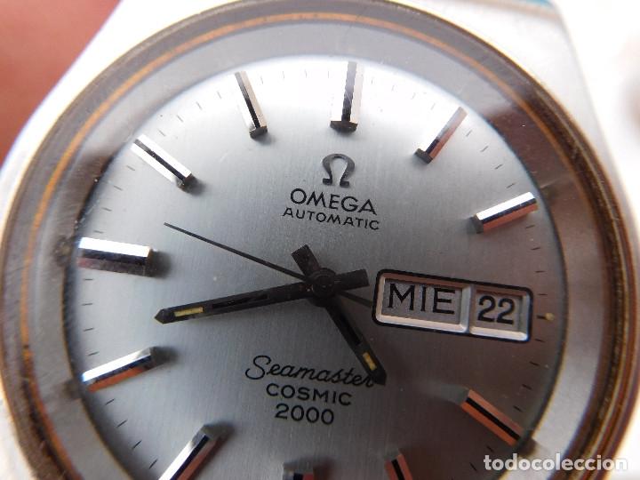 Relojes automáticos: Reloj automático de la marca Omega modelo seamaster cosmic 2000 - Foto 15 - 181392046