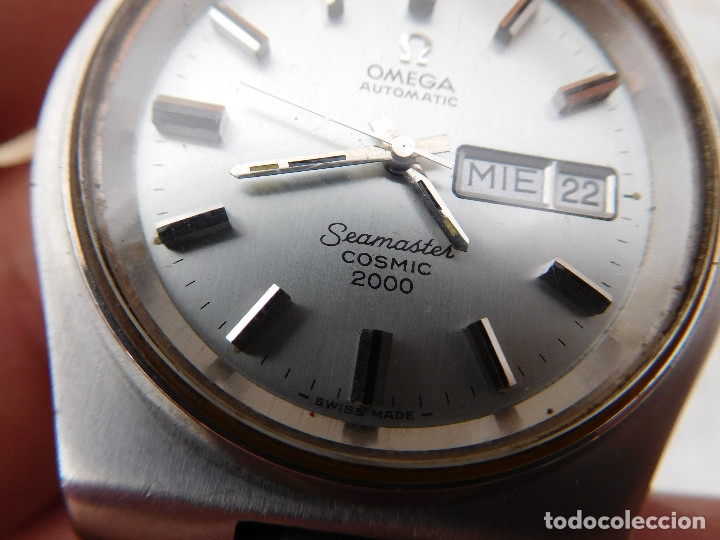 Relojes automáticos: Reloj automático de la marca Omega modelo seamaster cosmic 2000 - Foto 16 - 181392046