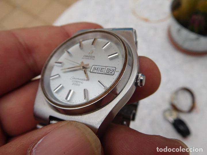 Relojes automáticos: Reloj automático de la marca Omega modelo seamaster cosmic 2000 - Foto 17 - 181392046