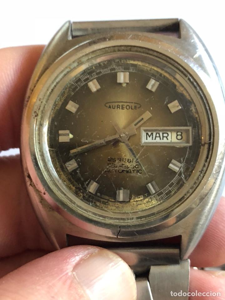 Relojes automáticos: Reloj aureole automático vintage - Foto 2 - 181469395