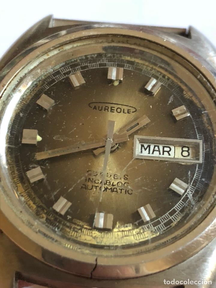 Relojes automáticos: Reloj aureole automático vintage - Foto 3 - 181469395