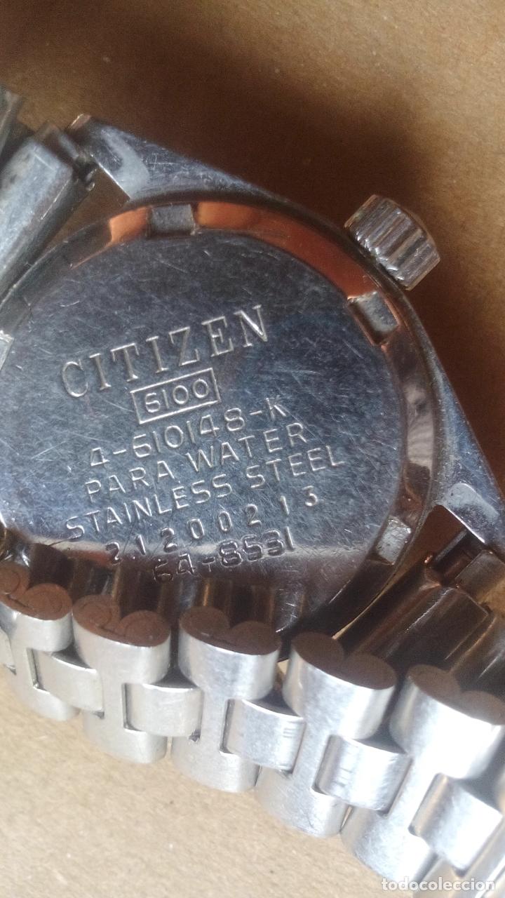 Relojes automáticos: RELOJ CITIZEN 17 JEWELS - PARA WATER - FUNCIONANDO, VER VIDEO - Foto 3 - 181711472