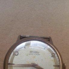 Relojes automáticos: RELOJ TECHNOS ANCRE 15 RUBIS - FUNCIONANDO, VER VIDEO. Lote 181712451