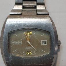 Relojes automáticos: RELOJ ANTIGUO CABALLERO TRESSA AUTOMATIC 25 JEWELS FUNCIONANDO. Lote 181859723