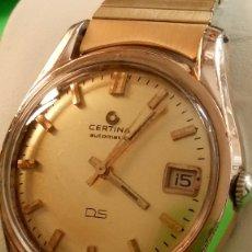 Relojes automáticos: CERTINA DS-TORTUGA AUTOMATICO. (IMPECABLE). AÑOS 60. P.ORO 20 MIC. 36.20 S/C. REVISADO Y FUNCIONANDO. Lote 181862726