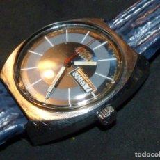 Relojes automáticos: ESCASO RELOJ DOGMA MOBY DICK AUTOMATICO SUPER COMPRESSOR TODO ACERO VINTAGE AÑOS 70. Lote 181960415