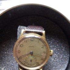 Relojes automáticos: RELOJ ANCRE. CHAPADO EN ORO. EL DE LA FOTO. FUNCIONANDO.. Lote 182008216