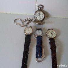 Relojes automáticos: LOTE DE 4 RELOJES DE CUARZO.. Lote 182178712
