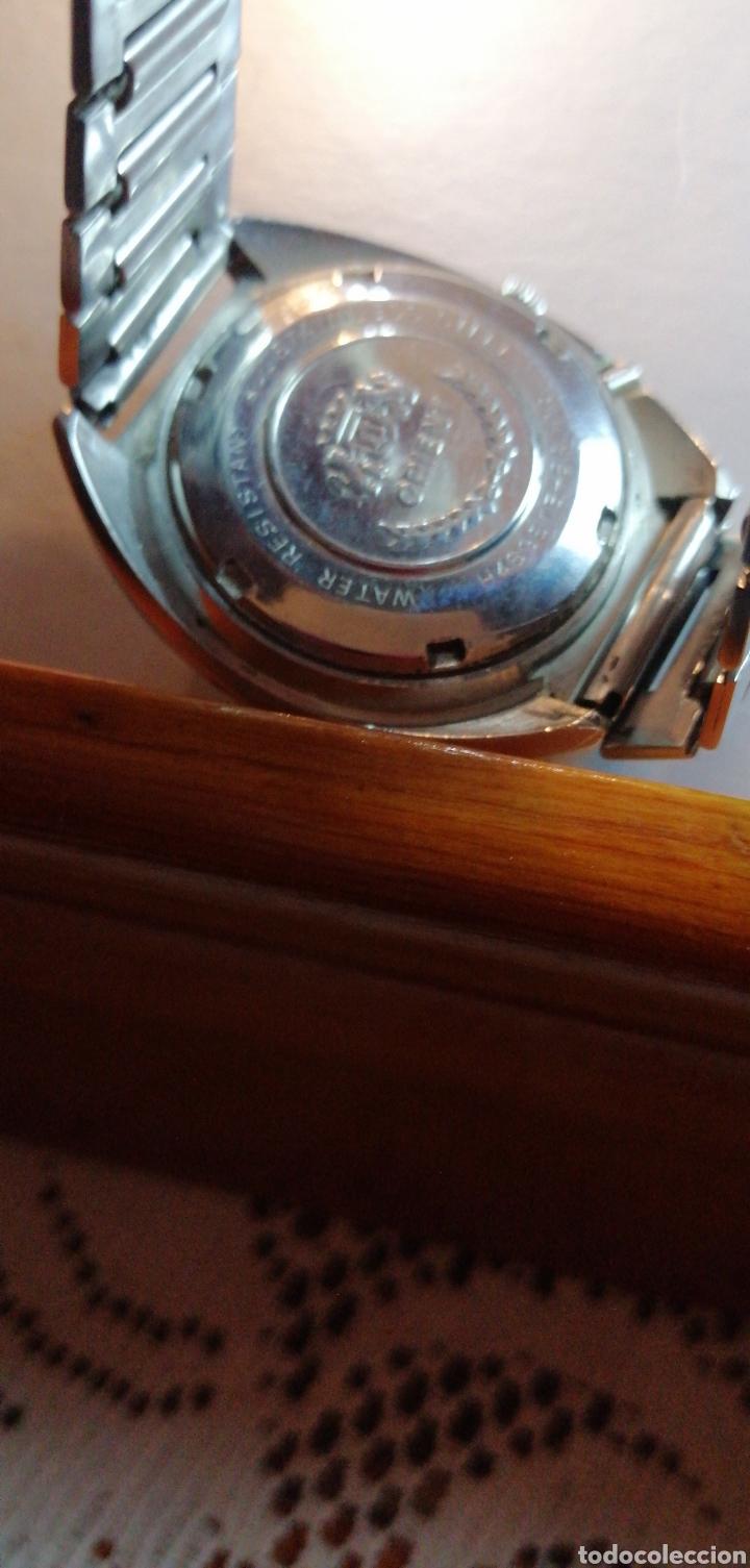 Relojes automáticos: RELOJ MARCA ORIENT AUTOMÁTICO 21 JEWELS CALENDARIO A LAS 3 - Foto 5 - 182303530