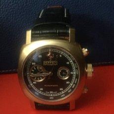 Relojes automáticos: RELOJ FERRARI AUTOMÁTICO. Lote 182335080