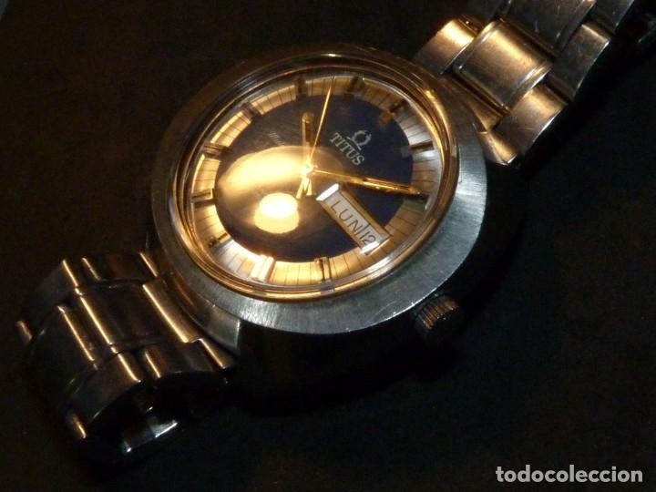 Relojes automáticos: IMPRESIONANTE RELOJ SOLVIL & TITUS GENEVE CALIBRE AUTOMATICO FHF 908 SWISS MADE 25 RUBIS AÑOS 70 - Foto 5 - 182525062