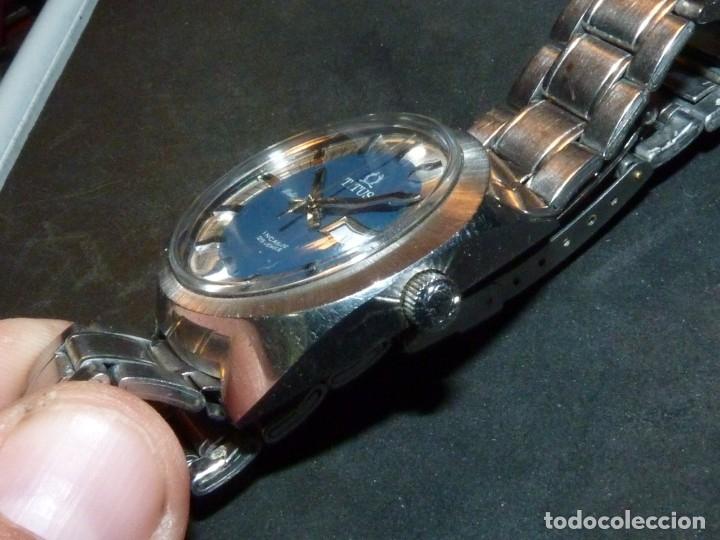Relojes automáticos: IMPRESIONANTE RELOJ SOLVIL & TITUS GENEVE CALIBRE AUTOMATICO FHF 908 SWISS MADE 25 RUBIS AÑOS 70 - Foto 6 - 182525062
