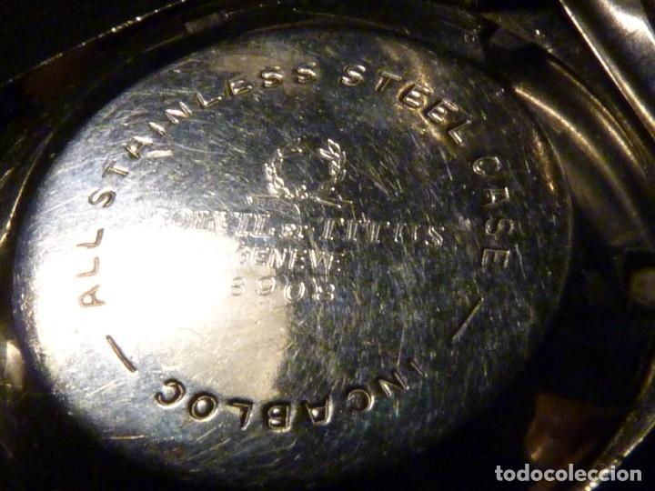 Relojes automáticos: IMPRESIONANTE RELOJ SOLVIL & TITUS GENEVE CALIBRE AUTOMATICO FHF 908 SWISS MADE 25 RUBIS AÑOS 70 - Foto 10 - 182525062
