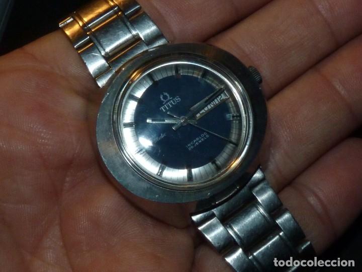 Relojes automáticos: IMPRESIONANTE RELOJ SOLVIL & TITUS GENEVE CALIBRE AUTOMATICO FHF 908 SWISS MADE 25 RUBIS AÑOS 70 - Foto 12 - 182525062