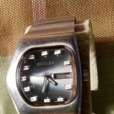 Relojes automáticos: ANTIGUO CITIZEN AUTOMATICO. FUNCIONANDO. TODO ORIGINAL Y DE ACERO. 33 MM. S/C. DESCRIPCION Y FOTOS.. Lote 182609893