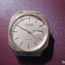 Relojes automáticos: ANTIGUO RELOJ AUTOMATICO DUWARD AUTOMATIC FUNCIONA PERO DEBE TENER ALGUNA PIEZA SUELTA EN EL INTE. Lote 182617125