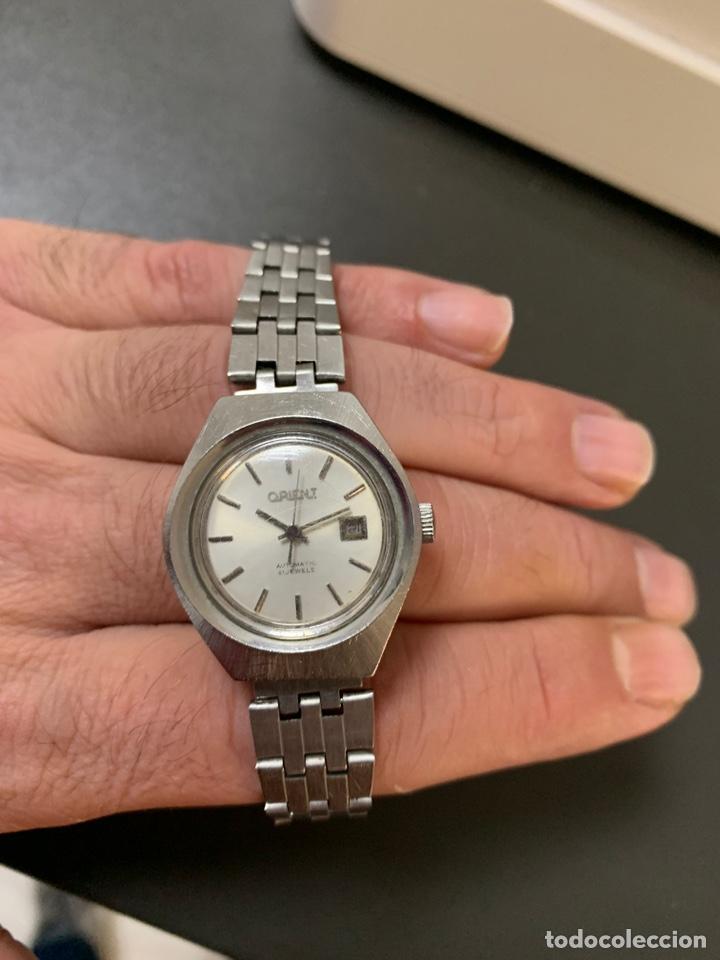 Relojes automáticos: Reloj antiguo ORIENT Automatic 21 Jewels vintage. Con calendario. Funcionando - Foto 3 - 182641877