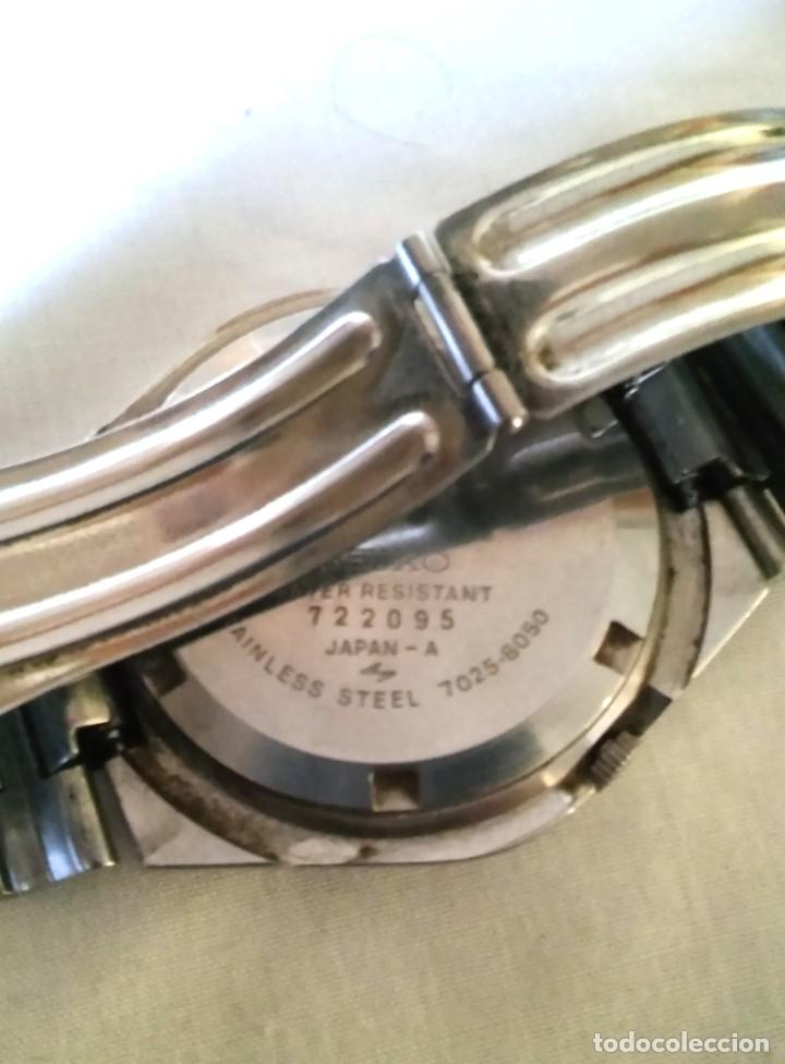 Relojes automáticos: RELOJ SEIKO AUTOMATICO FUNCIONANDO - Foto 2 - 182705872