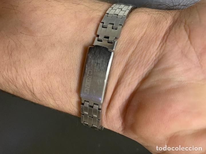 Relojes automáticos: Reloj antiguo ORIENT Automatic 21 Jewels vintage. Con calendario. Funcionando - Foto 13 - 182641877