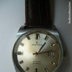 Relojes automáticos: RELOJ FESTINA AUTOMATICO AÑOS 70. Lote 182851276