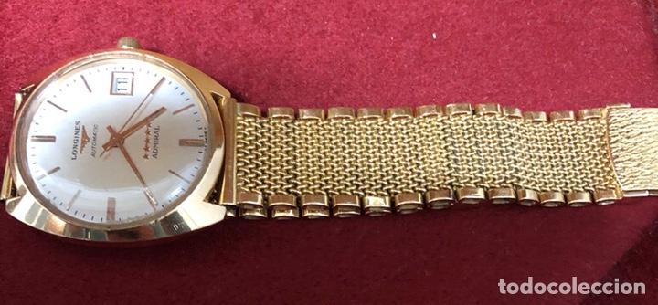 Relojes automáticos: Reloj automático de oro de 18K, Longines Admiral 5 estrellas. 97,20gr - Foto 2 - 182865583