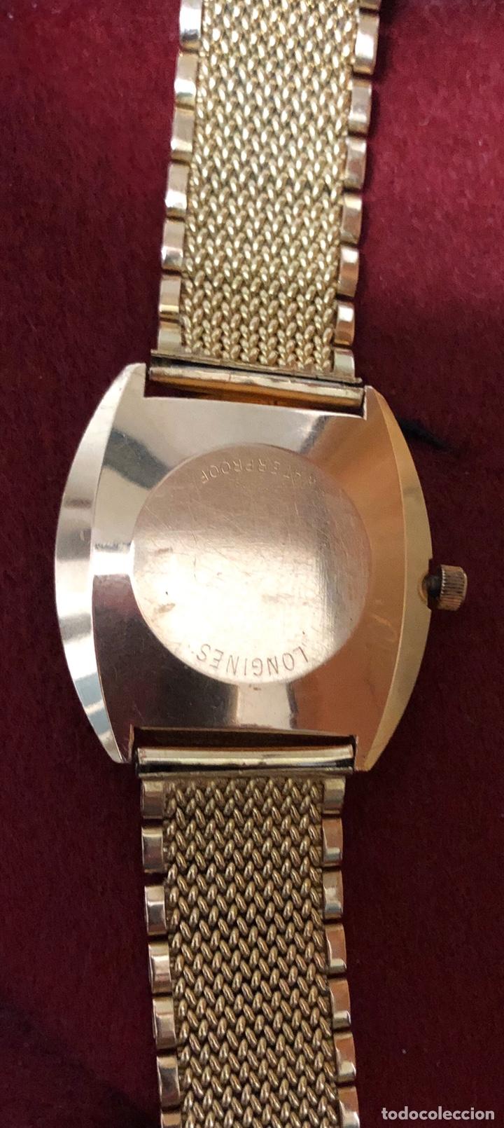 Relojes automáticos: Reloj automático de oro de 18K, Longines Admiral 5 estrellas. 97,20gr - Foto 3 - 182865583