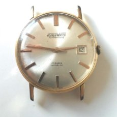 Relojes automáticos: ALFHER WATCH AUTOMÁTICO CALENDARIO, MAQUINARIA SUIZA, FUNCIONA. MED. 35 MM. Lote 182938261