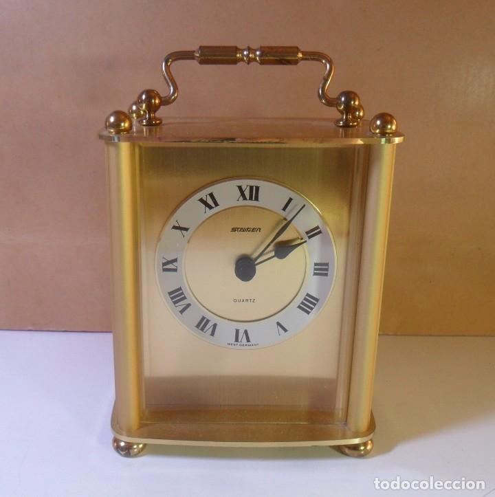 VINTAGE RELOJ DE SOBREMESA STAIGER – WEST GERMANY – CUARZO ** FUNCIONA (Relojes - Relojes Automáticos)