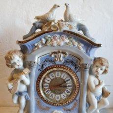 Relojes automáticos: RELOJ DE PORCELANA. Lote 183020676