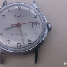 Relojes automáticos: RELOJ TIMEX RESISTENTE AL AGUA( FUNCIONA PERFECTAMENTE) . Lote 183023301