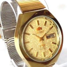 Relojes automáticos: RELOJ ORIENT CRYSTAL 3 ESTRELLAS AUTOMATICO FUNCIONANDO. Lote 183177230