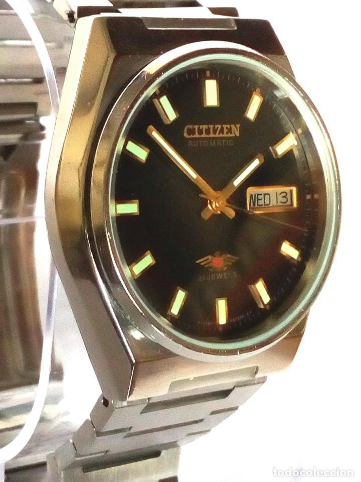 Relojes automáticos: RELOJ CITIZEN AUTOMATICO FUNCIONANDO - Foto 2 - 183177713