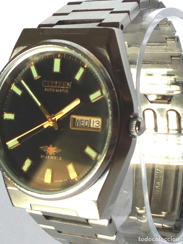 Relojes automáticos: RELOJ CITIZEN AUTOMATICO FUNCIONANDO - Foto 3 - 183177713