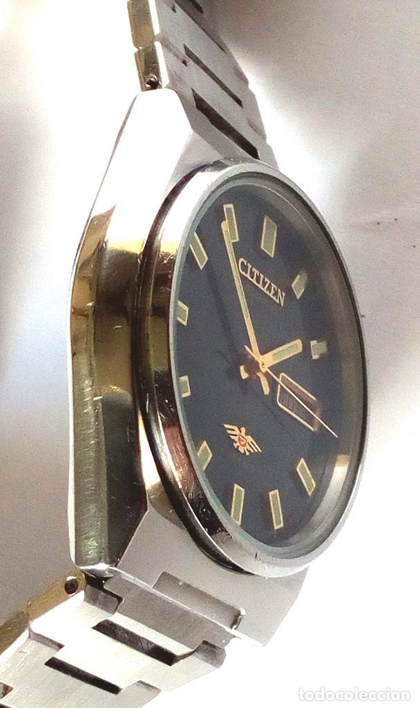 Relojes automáticos: RELOJ CITIZEN AUTOMATICO FUNCIONANDO - Foto 4 - 183177713