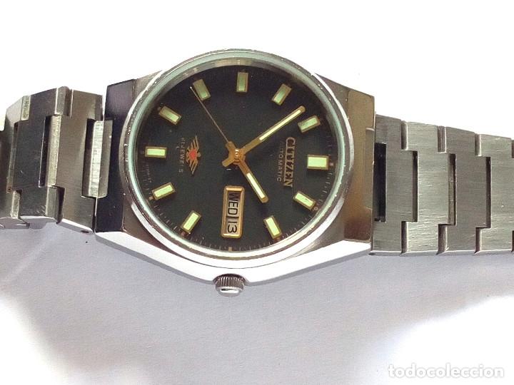Relojes automáticos: RELOJ CITIZEN AUTOMATICO FUNCIONANDO - Foto 5 - 183177713