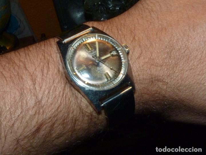 CLASICO RELOJ AQUASTAR DUWARD AUTOMATICO GRAND AIR AS1713 DIVER 21 RUBIS 10 ATM ACERO AÑOS 60 (Relojes - Relojes Automáticos)