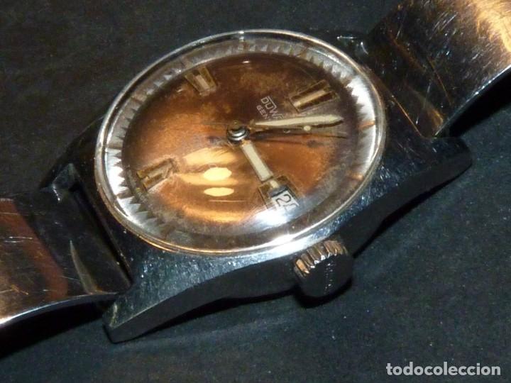 Relojes automáticos: CLASICO RELOJ AQUASTAR DUWARD AUTOMATICO GRAND AIR AS1713 DIVER 21 rubis 10 atm ACERO AÑOS 60 - Foto 3 - 183331612