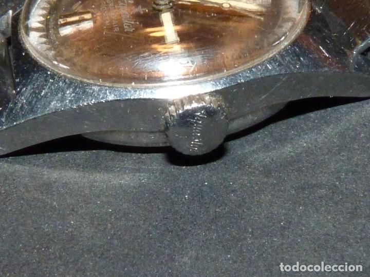Relojes automáticos: CLASICO RELOJ AQUASTAR DUWARD AUTOMATICO GRAND AIR AS1713 DIVER 21 rubis 10 atm ACERO AÑOS 60 - Foto 4 - 183331612