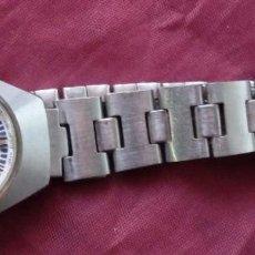 Relojes automáticos: RELOJ DE SEÑORITA AUTOMATICO CITIZEN ACERO INOXIDABLE FUNCIONANDO. Lote 183575696