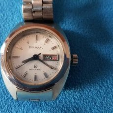 Relojes automáticos: 149-RELOJ SRA. AUTOMÁTICO, CALENDARIO, SEMANARIO, 21 RUBÍS, ARMY ORIGINAL.. Lote 183668817
