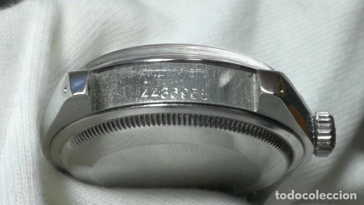 Relojes automáticos: RELOJ ROLEX OYSTER DATE ESFERA NEGRA del año 1976 , calibre 1570, de 26 rubís - Foto 2 - 183792187